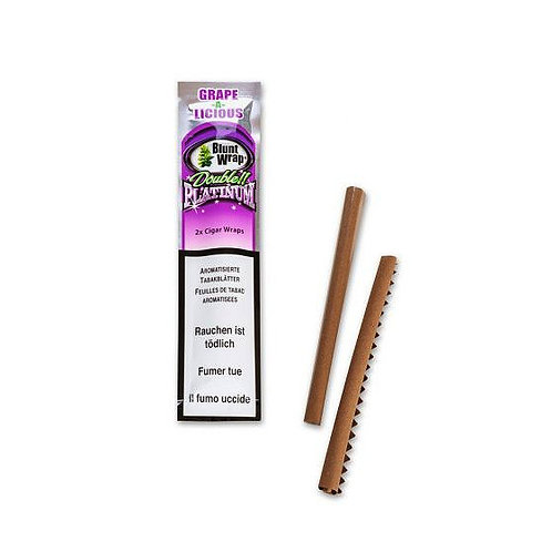 Bluntswrap Grape&Licious Pack 2 x