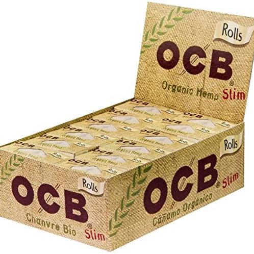 OCB Slim Rolls Chanvre Bio Box 24x