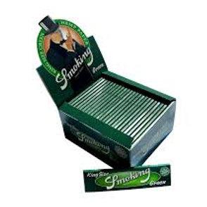 Smoking green paper BOX