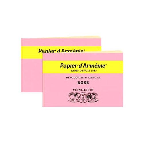Papier d`armenie Heft  ROSE