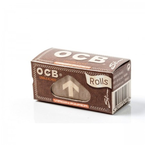 OCB Slim Unbleached Rolle