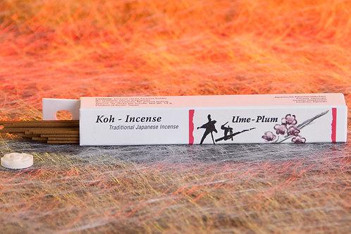 Ume-Plum Japan Räucherstäbchen 14 gram.