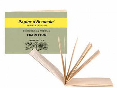 Papier d`armenie Heft Benzoe