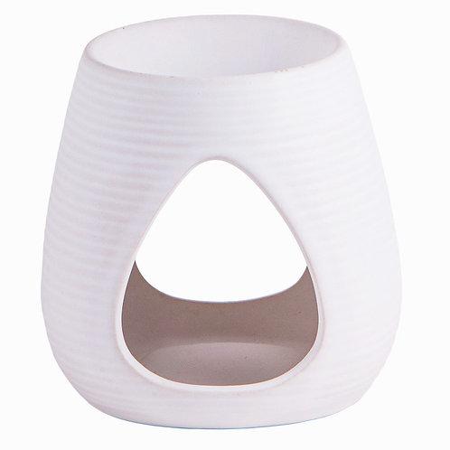 Aromalampe Weiss Keramik