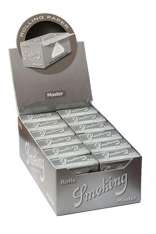 BOX Smoking Silver paper Rolls . 24x