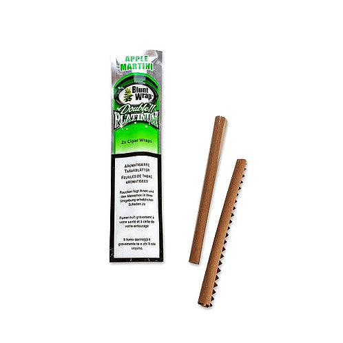 Bluntswrap Apple/Martini Pack 2 x