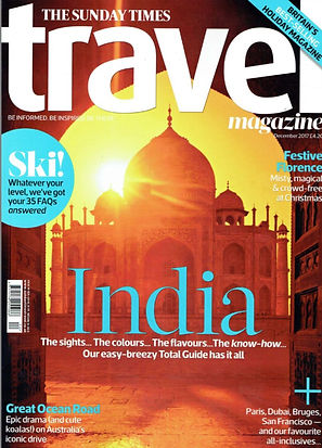 Ellie Boulstridge mentioned in The Sunday Times Travel Magazine