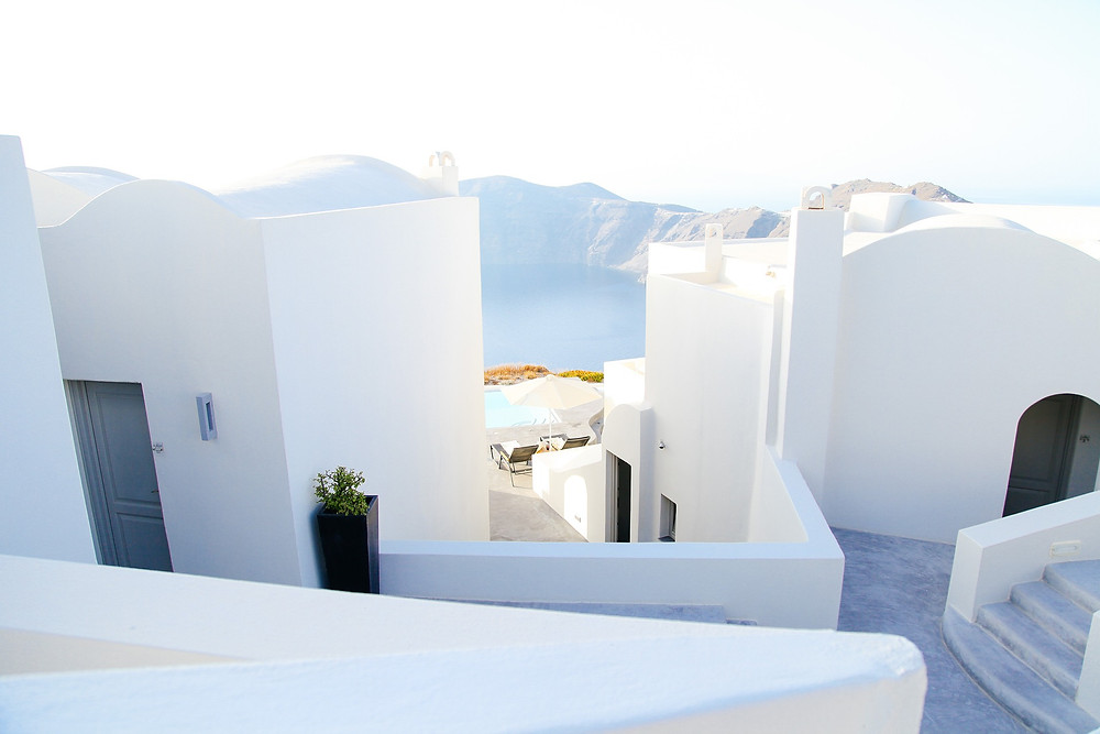 Stylish boutique hotel in Greece