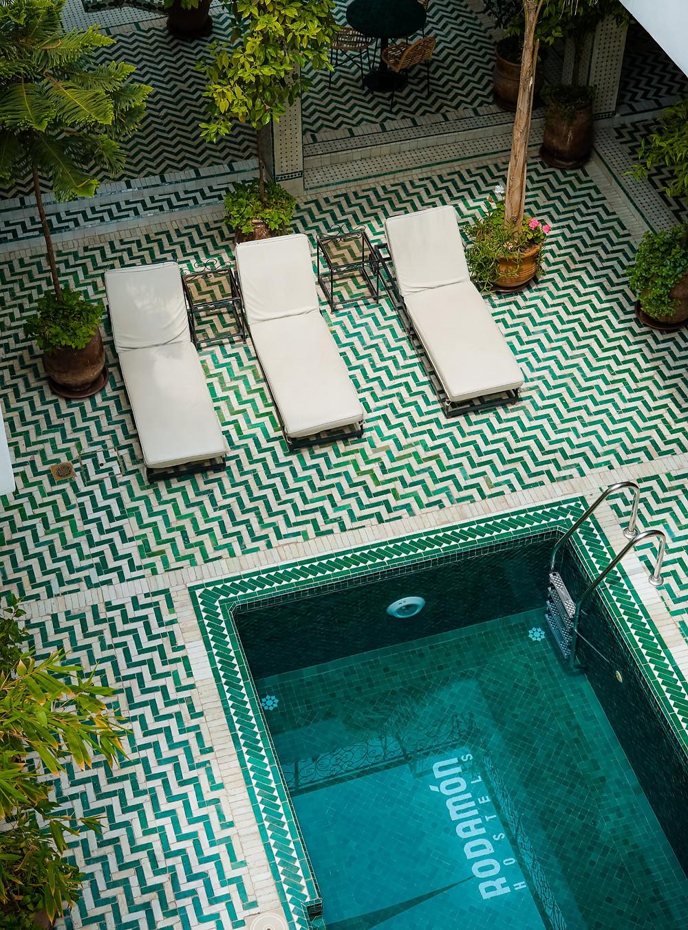 Stylish interior design in boutique hotels