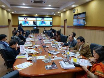 GRAND JURY MEET AT MORTH HQ- NEW DELHI