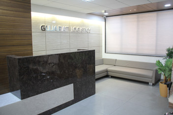 NEW OFFICE RECEPTION AREA