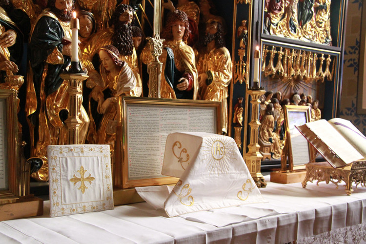 Altar Prepared for Mass