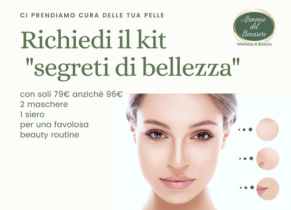 Segreti di bellezza KIT