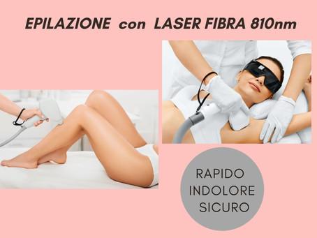 Epilazione laser :efficace e indolore