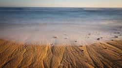 El mar reventó la orilla