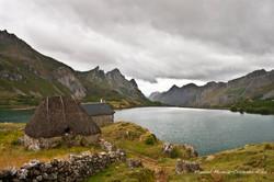 Cabaña y Lago