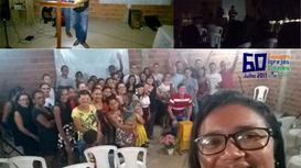 Mesmo sem luz, os céus estavam abertos em Bocaina no Piauí - 60 Cidades, equipes, igrejas/julho 2017