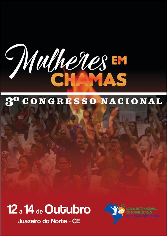3º Congresso nacional de mulheres no Sertão Nordestino!