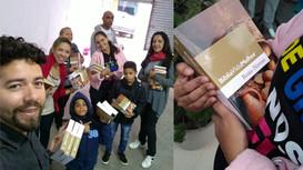 Visitação nos lares e entrega de Bíblias em Água Branca-AL