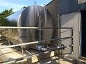 Mueller P Series Milk Tanks