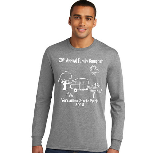 H-DM132 District Made® Perfect Tri® Long Sleeve Crew Tee