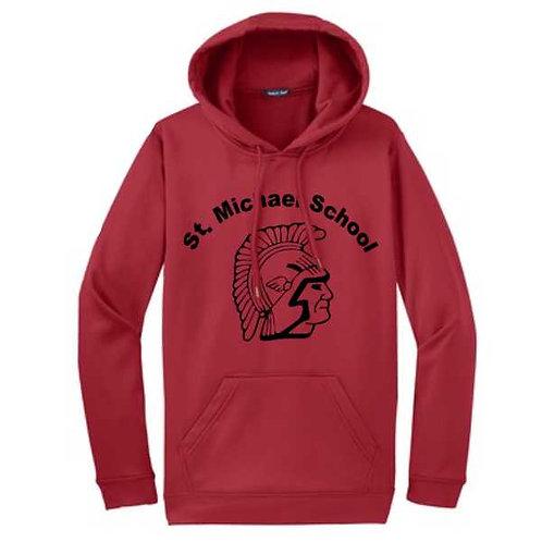 F244 Adult Fleece Hooded Sweatshirt