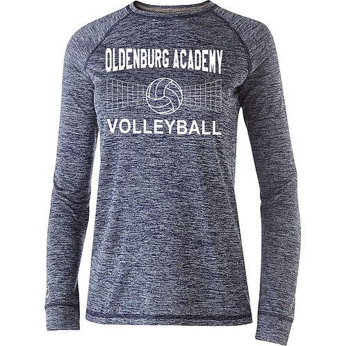 07-222724 Ladies' Long Sleeve Electrify Shirt