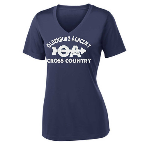 01-ST353 Ladies' Competitor V-Neck Tee