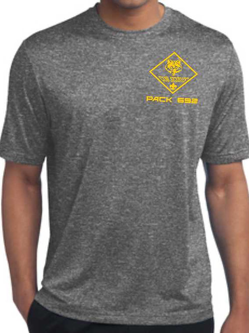 3ST360 Adult Heather Contender Tee