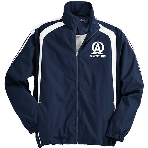 14-JST60  Colorblock Raglan Jacket