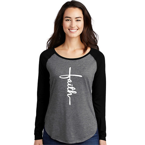 TF-LST400LS Ladies' Long Sleeve Tri-Blend