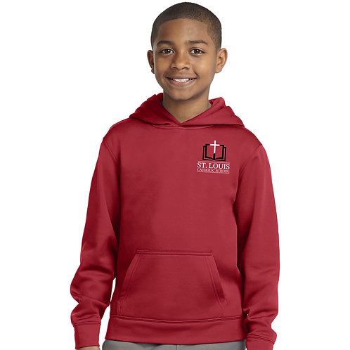 SL-YST244 Youth Hooded Fleece Sweatshirt