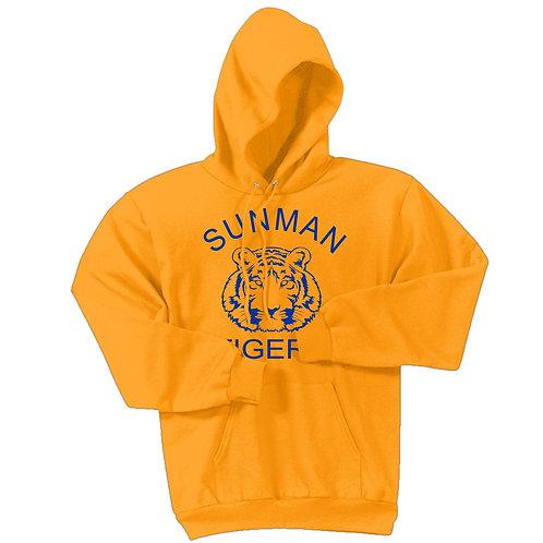 STPC78H Youth Hooded Sweatshirt w/Logo