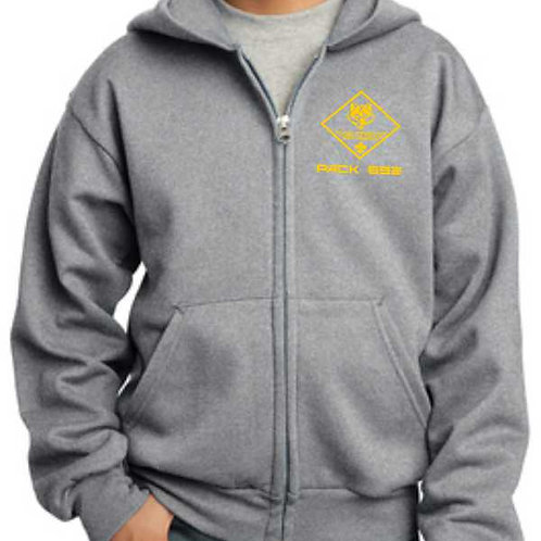 2PC90YZH Youth Hooded Sweatshirt