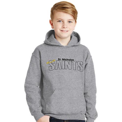 SN-18500B Youth Hooded Sweatshirt