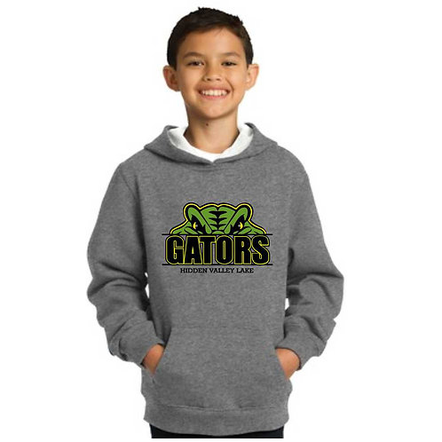 G-YST254 Youth Pullover Hooded Sweatshirt