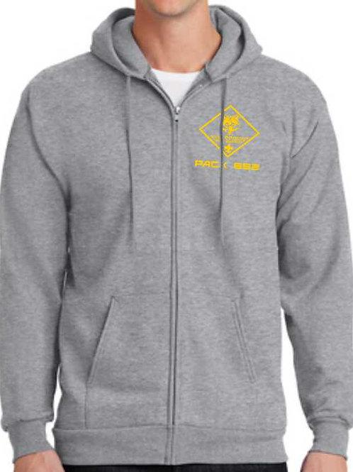 1PC90ZH Adult Hooded Sweatshirt