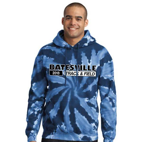 PC146 Tie-Dye Hooded Sweatshirt