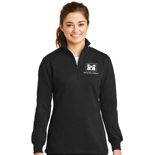 LST253 Ladies' 1/4-Zip Sweatshirt