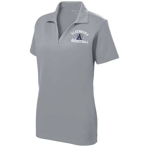 10-LST640 Ladies' RacerMesh Polo
