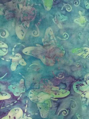 Dragonflies & Butterflies - Batik - 810