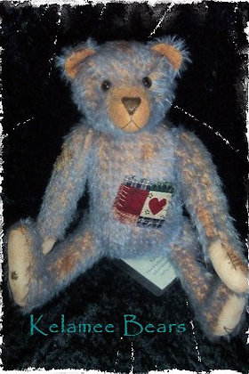"Patch 30cm - 12"" Mohair Bear"
