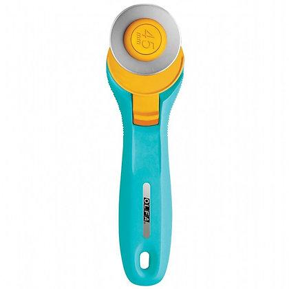 Olfa 45mm Rotary Cutter - Aqua
