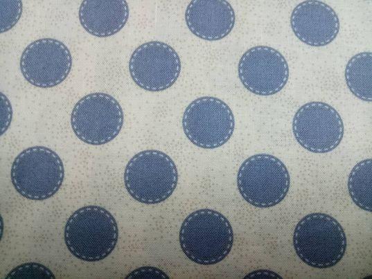 Sewn Spot Dove White - 481050