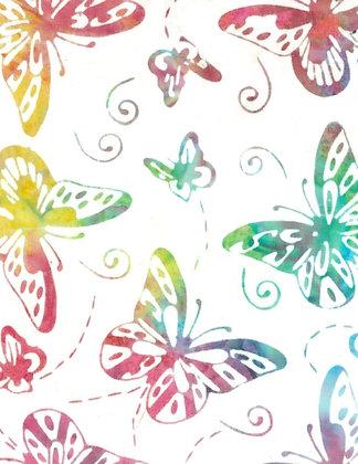 """Butterflies- Wideback 108"""" (275cm) BA 809"""