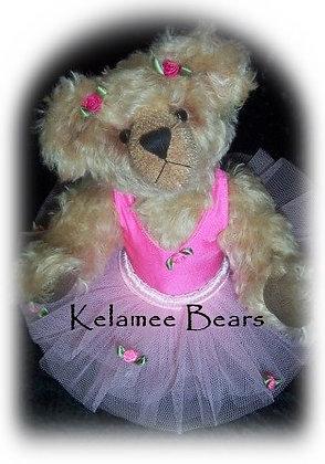 "Lillie 42cm - 17"" standing Mohair Bear"