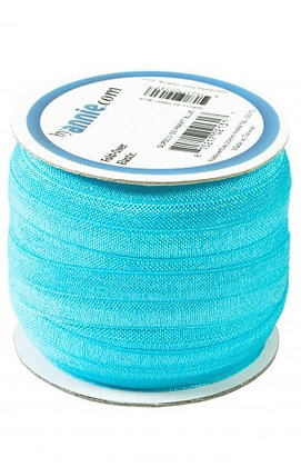 Fold Over Elastic - 20mm - ByAnnie - Parrot Blue