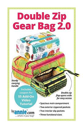 Double Zip Gear Bag 2.0