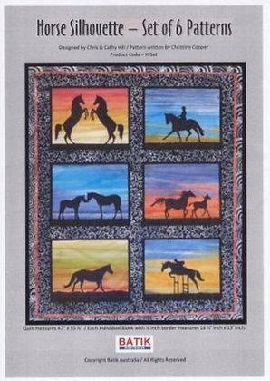 Horse Silhouette Panels Kit