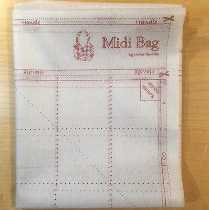 Midi Bag Printed Interfacing.